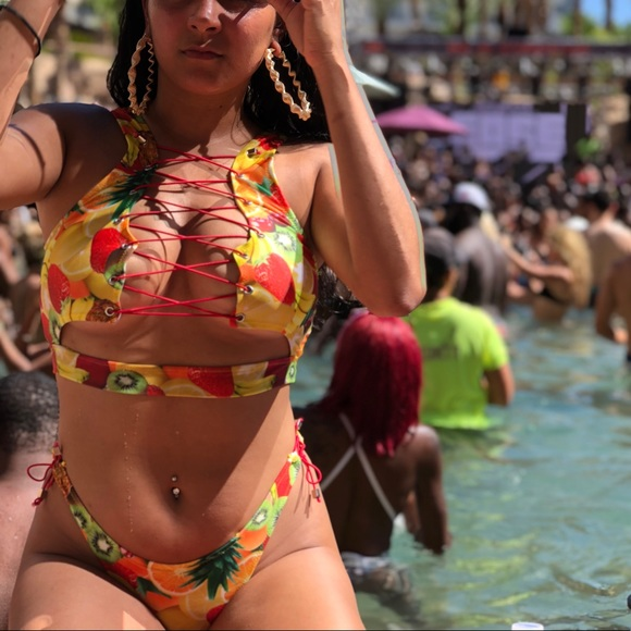 c27baac320f23 Swim | Bathing Suit Fruity | Poshmark